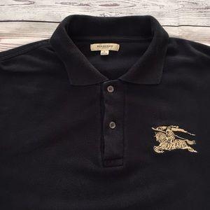 Burberry London Men's Dark Navy Polo